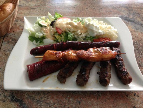 frische cevapcici picture of balkan grill mannheim tripadvisor. Black Bedroom Furniture Sets. Home Design Ideas