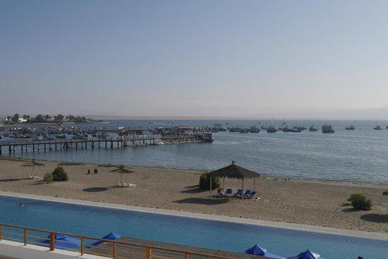 San Agustín Paracas: Vista de la bahía desde la habitación
