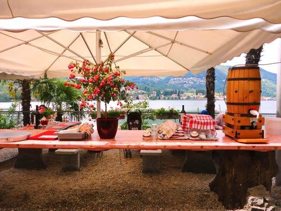 Taverna Dei Pescatore : Die Terasse