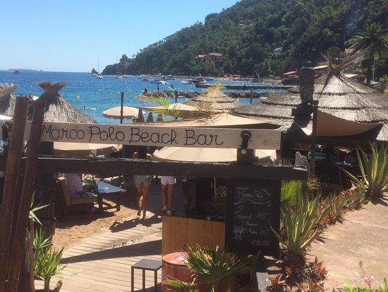 Beach bar på Marco Polo