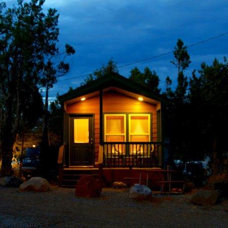 Durango KOA: Exterior of Deluxe Cabin