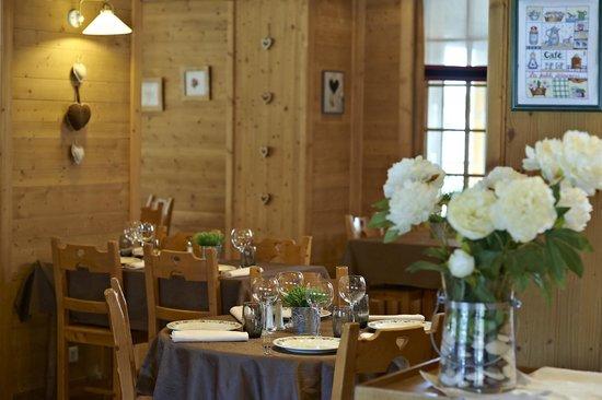 Hotel La Clef Des Champs: Restaurant