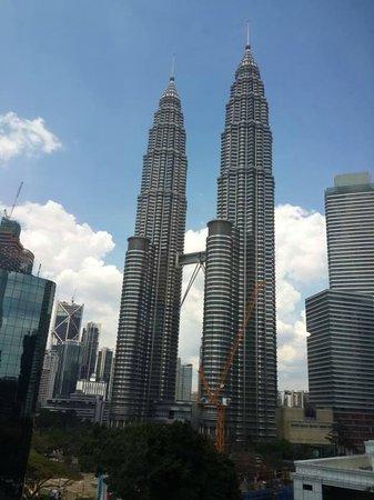 Hotel Maya Kuala Lumpur : View from our room window