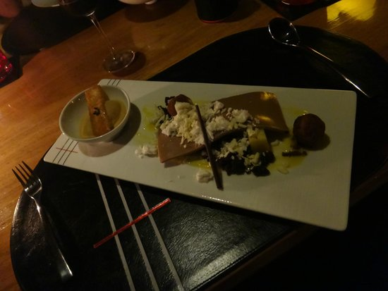Tree Tops Sky Dining & Bar: Caramel and Chocolate Dessert