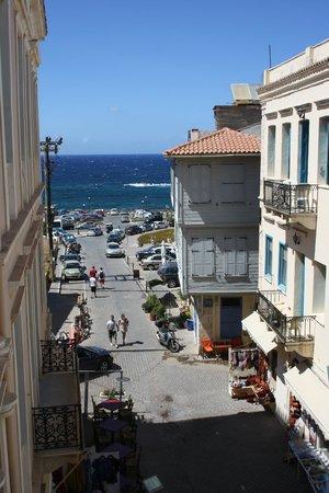 Casa Veneta: The view of the sea from the balcony