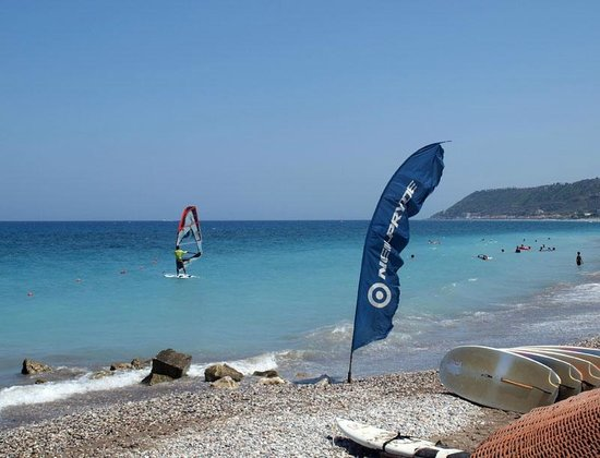 Surfers Paradise - Windsurf Club Ixia Rhodes: light wind