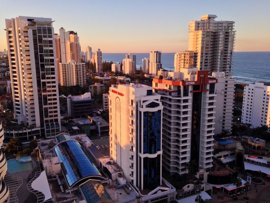Sofitel Gold Coast Broadbeach : View from balcony on 20th floor