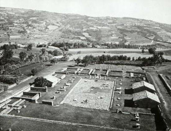 Lugagnano Val d'Arda, Italia: Gli scavi, ai primi del '900