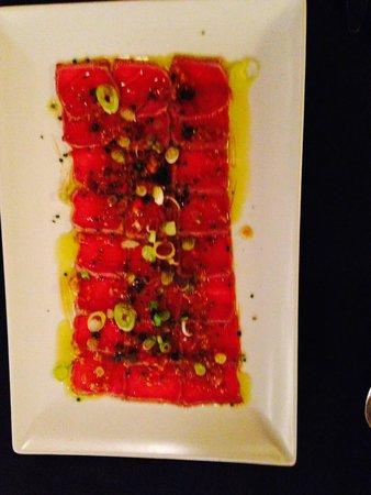 La Incidència del Factor Vi: Tataki de ternera con mostaza y vinagreta de cítricos y pimientas