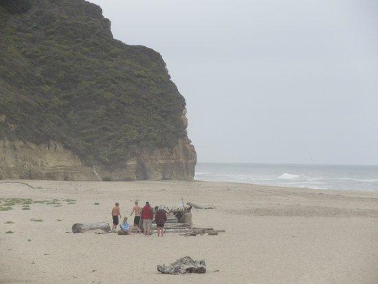 Nice Cliffs, Pomponio State Beach, Half Moon Bay, Ca