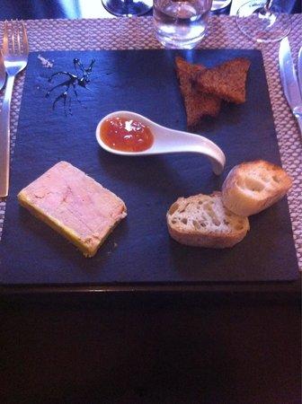 L'ardoise : Foie gras maison