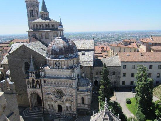 Cappella Colleoni: Vista dal Campanone
