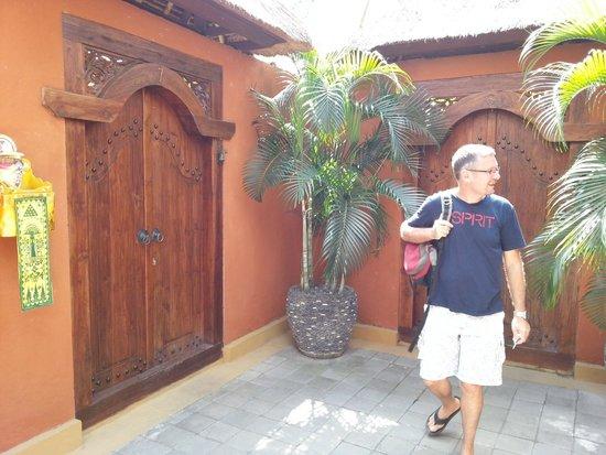 Bali Alizee Villas : La porte d'entrée de la villa