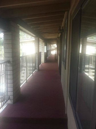 Motel in the Pines: NOTE: I don't believe the place is handicap accessible - I didn't see an elevator.