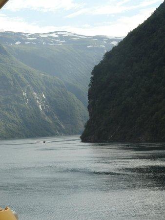 Geiranger Fjord : la navigazione nel fiordo