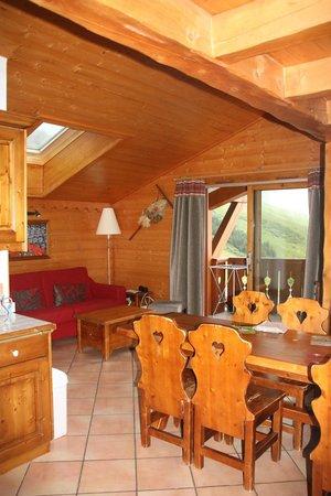 Pierre & Vacances Premium Residence Les Alpages de Reberty: la pièce principale