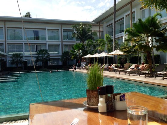 Lanna Samui : Breakfast location