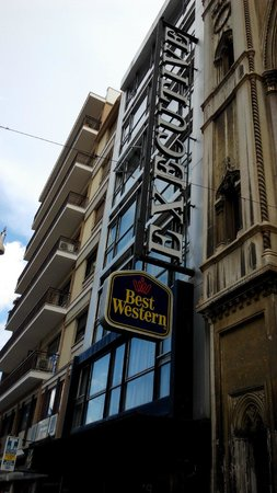 BEST WESTERN Hotel Executive: View from the street