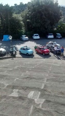 Caf Florence, Tuscany & Italy Tours : The cars and bikes