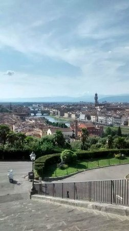Caf Florence, Tuscany & Italy Tours : The views