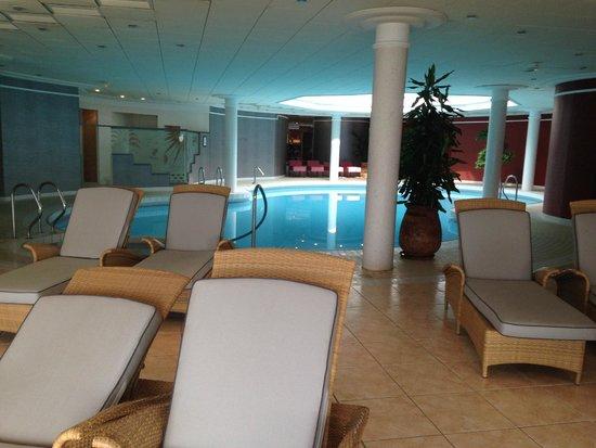 Domaine de Rochevilaine : piscine intérieure