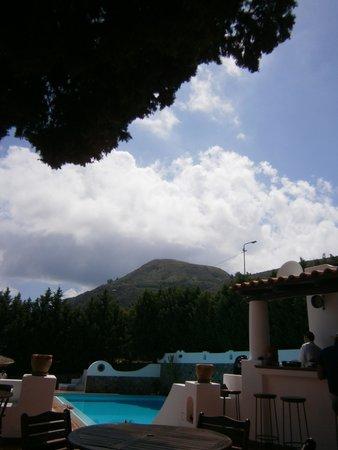 Gattopardo Park Hotel: Vu de la terrasse