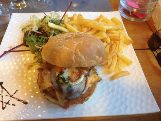 La Cabane: Farmer burger