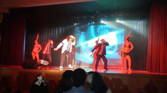 Valentin Sancti Petri Hotel Chiclana: Michael Jackson show 2014