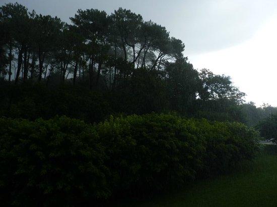 Residence Odalys Domaine Iratzia: vue de la terrasse