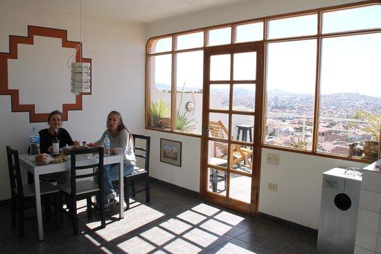 Casa AL Tronco: La cuisine commune