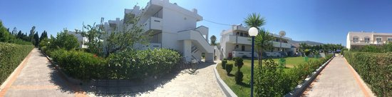 Nicon: panoramic picture of apts