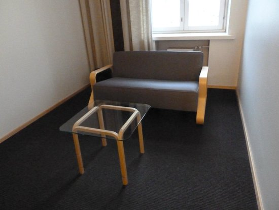 Hotel Helka: sitting area
