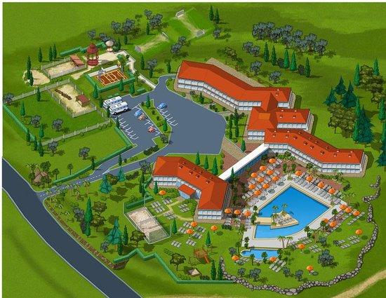 Hotel Centro Turistico Gardesano - Mappa