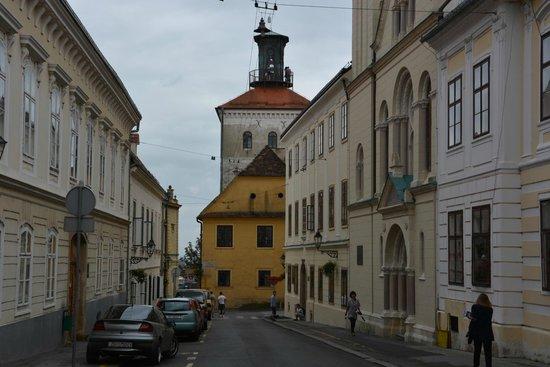 Upper Town (Gornji Grad): Vieille ville