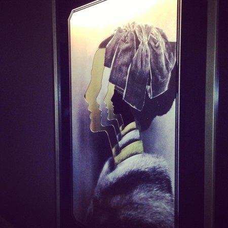 QT Sydney: hallway art