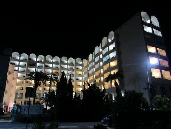 Hotel Best Indalo: Hotel por la noche
