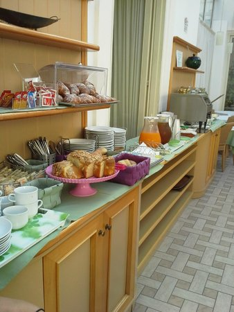 Hotel del Corso : Breakfast area