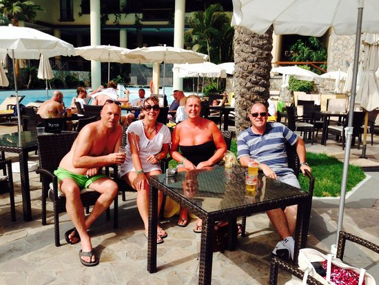 Costa Adeje Gran Hotel: Great to meet good friends at this hotel