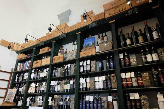 Enoteca Pitti Gola e Cantina : Great selection