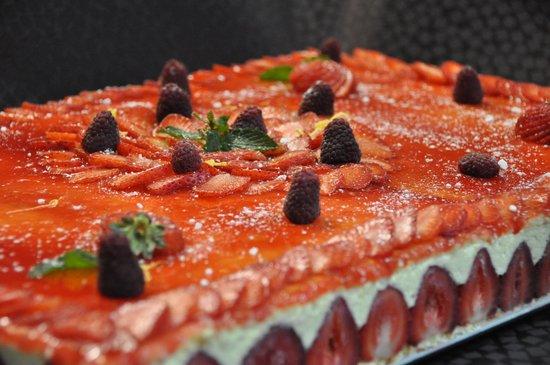 Le Flandre : fraisier