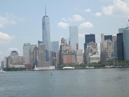 Staten Island Ferry : Vue de la Skyline de Staten Island
