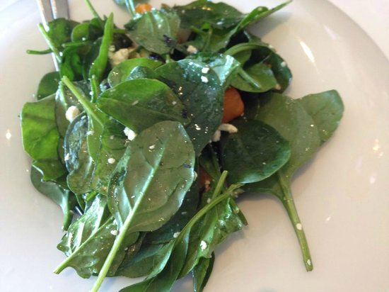 Esca Bimbadgen Restaurant: Warm salad - butternut, baby spinach, crumbled feta