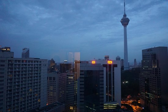 PARKROYAL Serviced Suites Kuala Lumpur: View from our main bedroom