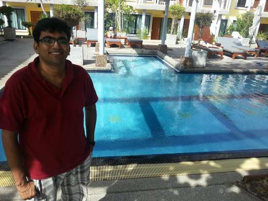 By The Sea: Swimming pool area