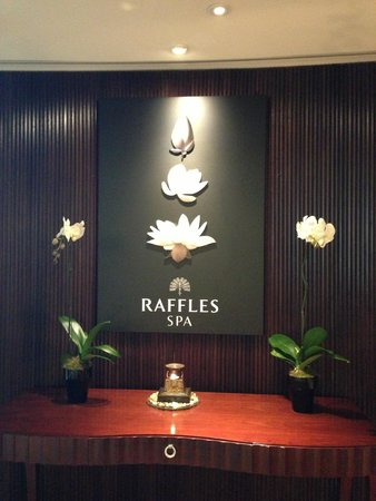 Raffles Dubai: Spa, even though I didn't use it.