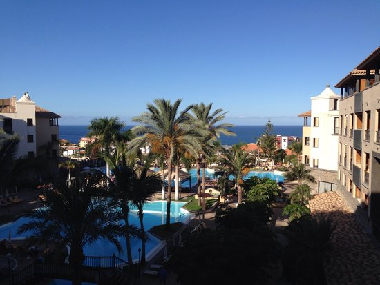 Costa Adeje Gran Hotel: View from our room