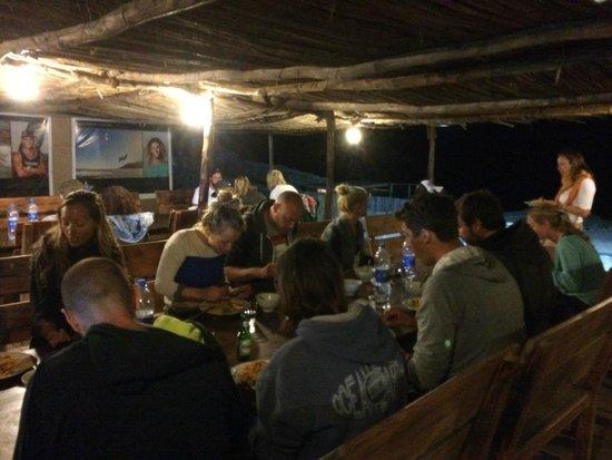 Dakhla Spirit Lagoon Camp : Dinner at Dakhla Spirit