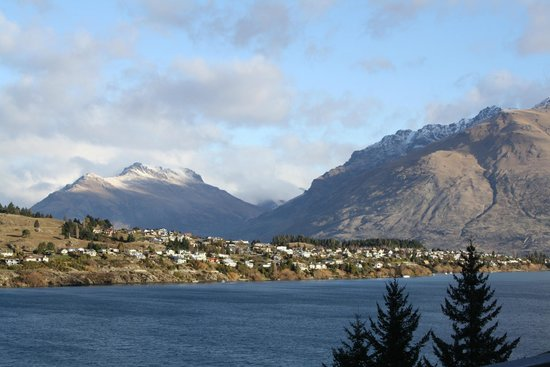 Heritage Queenstown: View from our waterfront room.