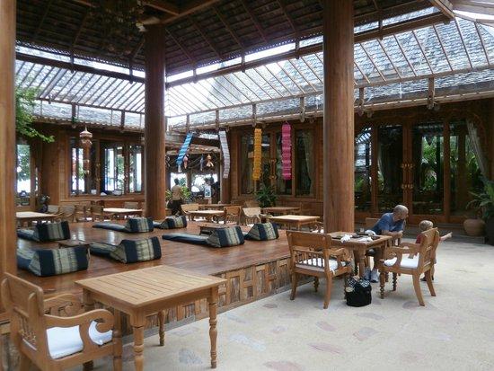 Santhiya Koh Yao Yai Resort & Spa : Reception/Restaurant Area
