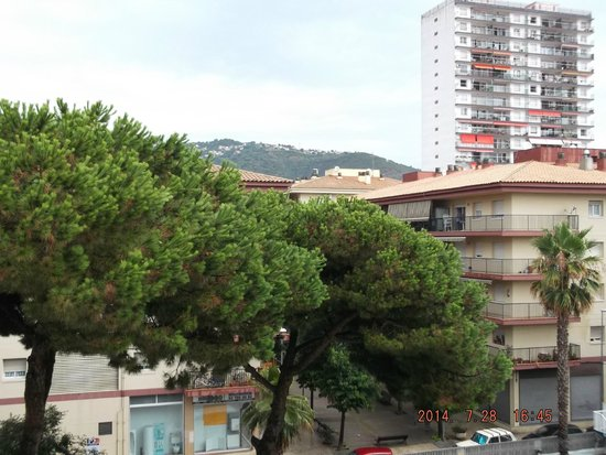 Hotel GHT Balmes & Apartments: In the balcony